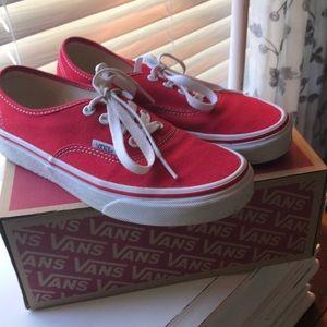 Vans women's tennis shoes.